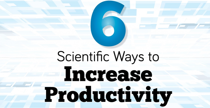 Top 6 Tips on How to Increase your Productivity